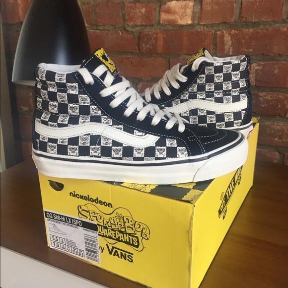 5339a79bdb8 Shoes Spongebob X Poshmark Vault Edition Vans Limited UwqzOgOd